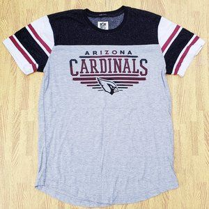 Arizona Cardinals NFL Football Gray Shirt Medium